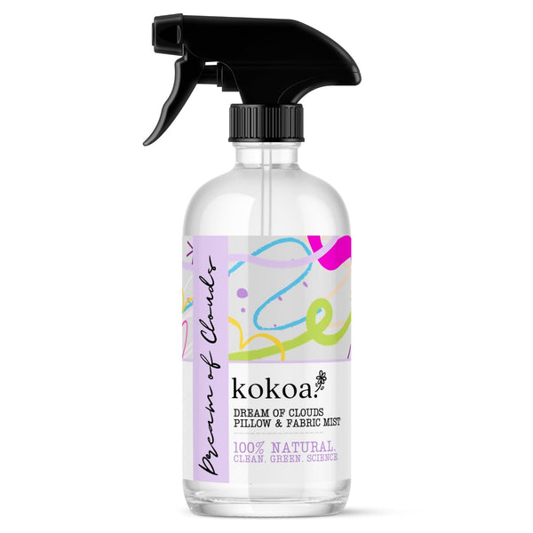 Dream of Clouds Sleep ~ Organic Pillow Spray & Fabric Mist - Kokoa Eco Beauty
