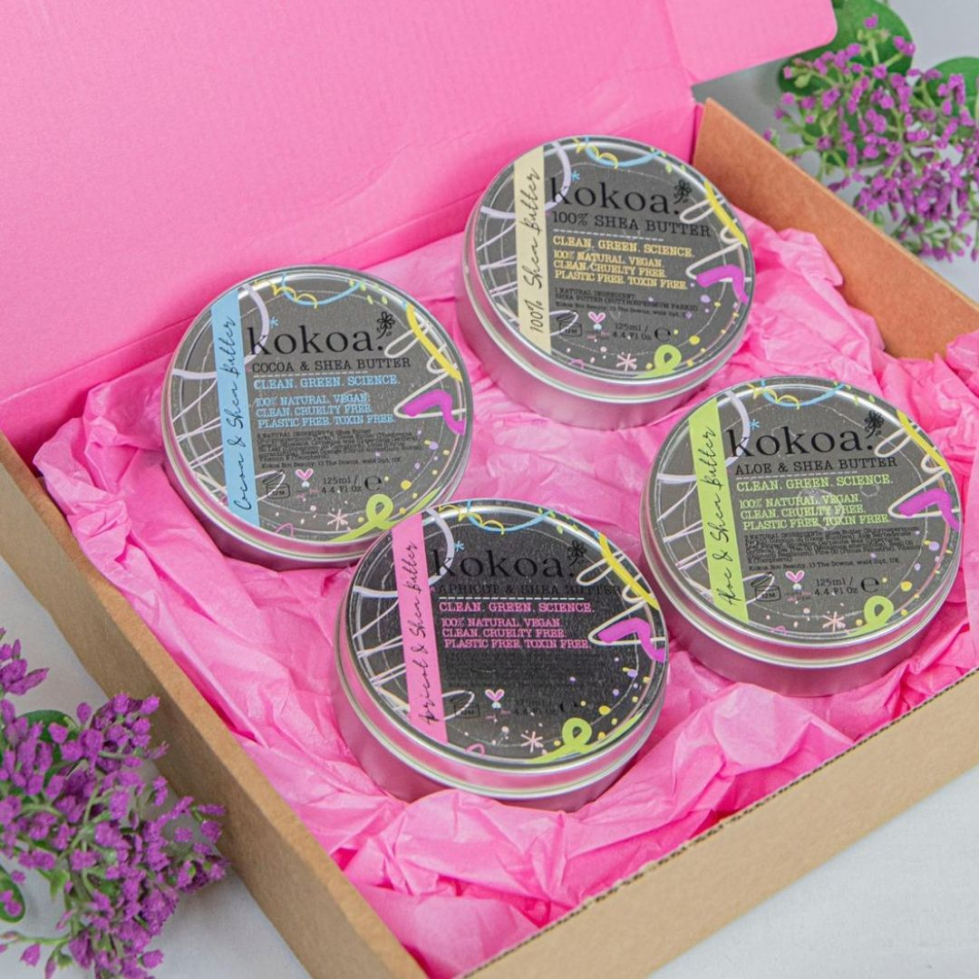 Organic Shea Butter & Aloe Butter ~ 100% Natural - Kokoa Eco Beauty