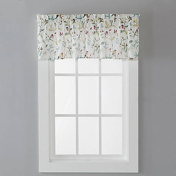 Aviary Kitchen Tier Curtain and Valance