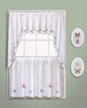 Butterfly-Embroidered-Kitchen-Tiers-Valance-And-Swags