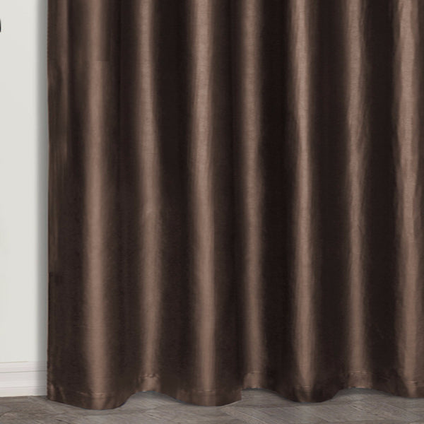 Faux-Leather-Grommet-Top-Panel-Brown-Zoom