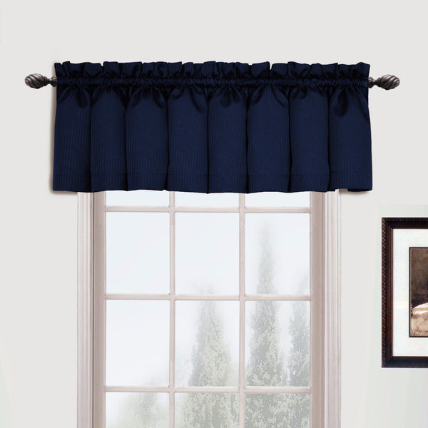 Metro-Rod-Pocket-Valance-Navy-Zoom