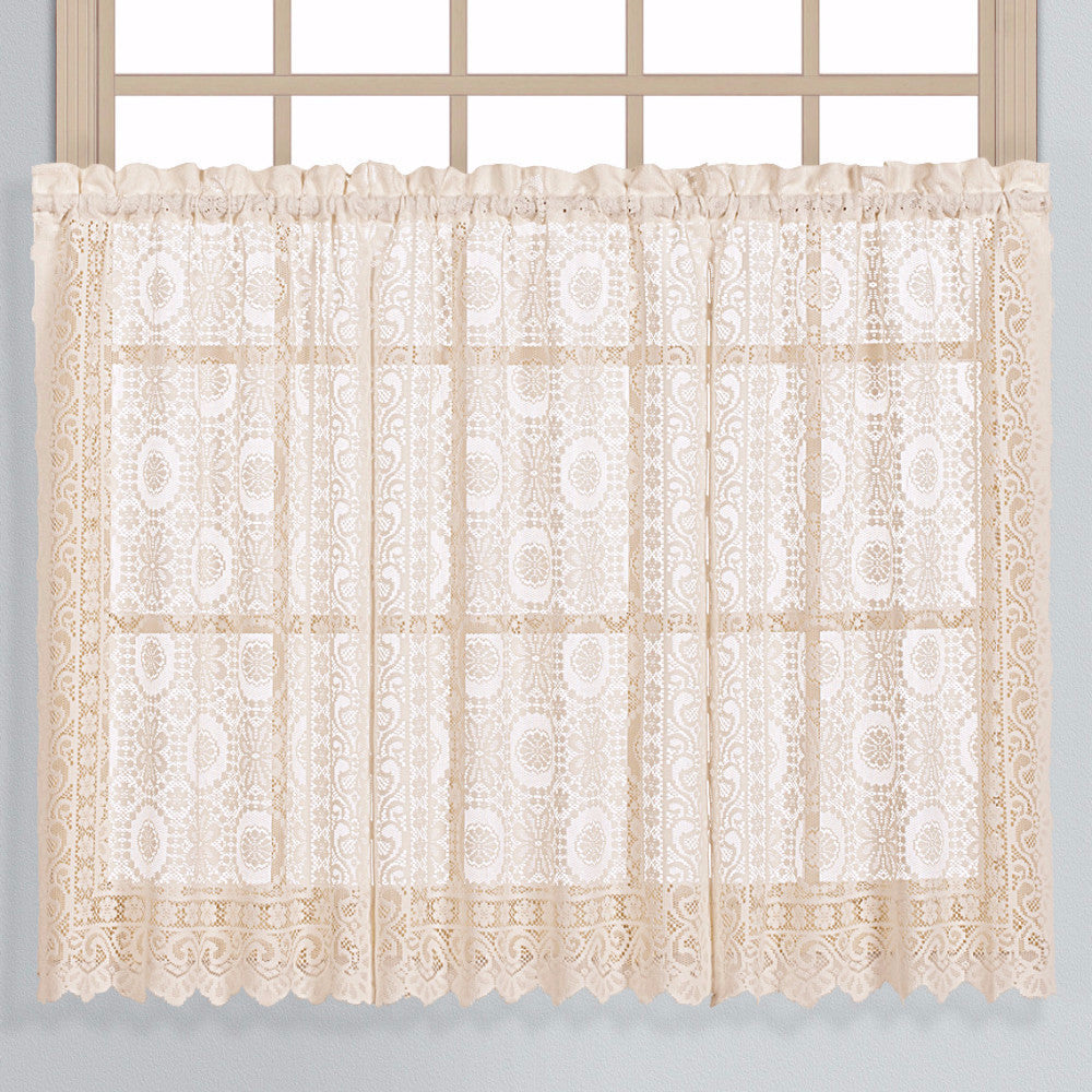 Natural shower curtain -  New Rochelle Kitchen Tiers Natural Zoom