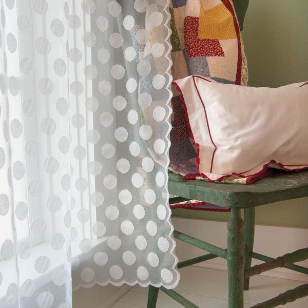 Polka Dot II Lace Panel