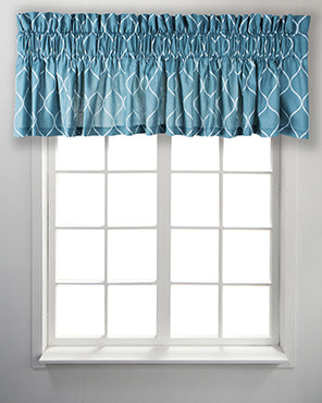 Trellis Tailored Valance