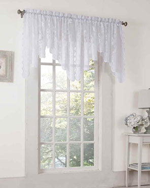 Alison Lace Curtain Valance