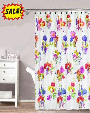 Amberley Peva Vinyl Shower Curtain