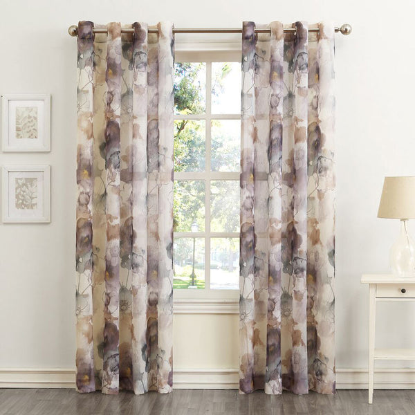 No.918 Andorra Crushed Semi Sheer Grommet Top Panel by Lichtenberg