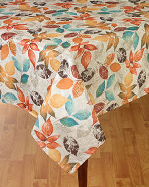 Aspen Printed Fabric Tablecloth
