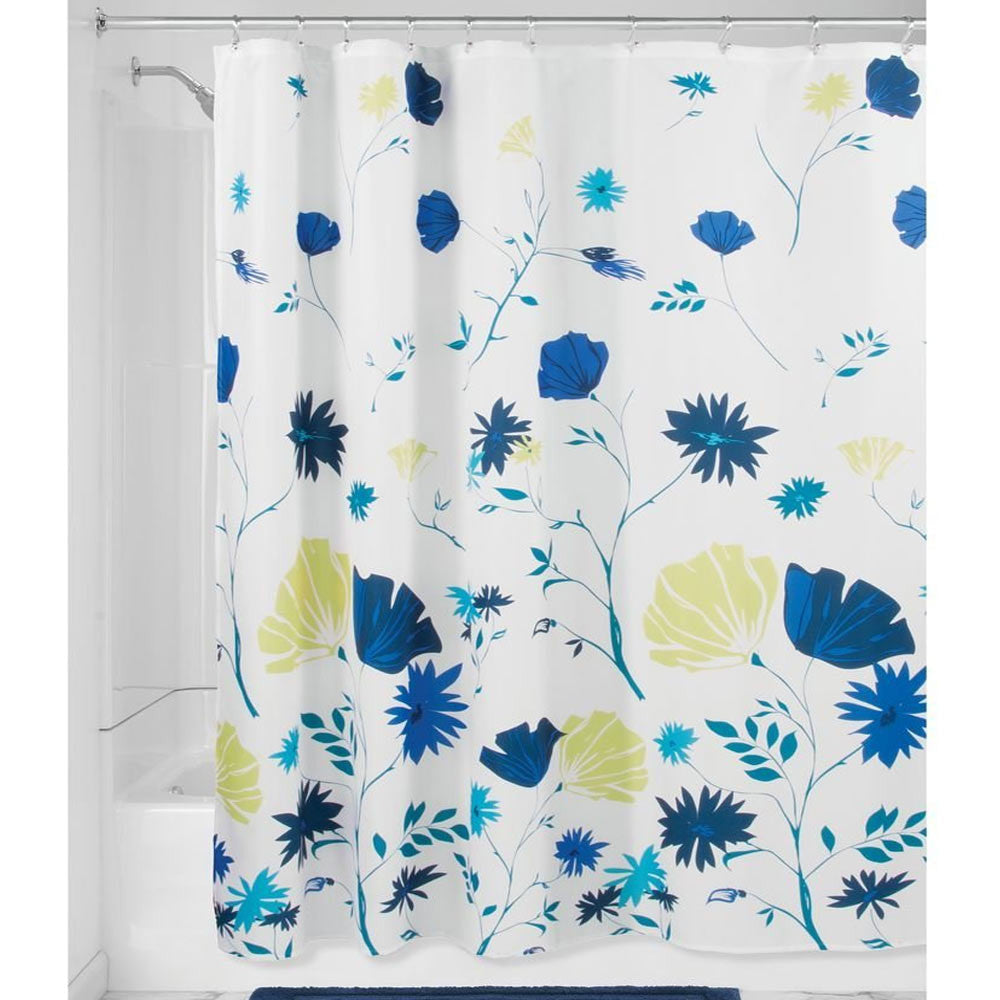 Aster-Floral-Fabric-Shower-Curtain-Zoom
