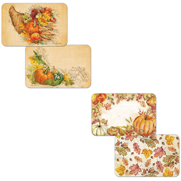Autumn Reversible Plastic Placemats
