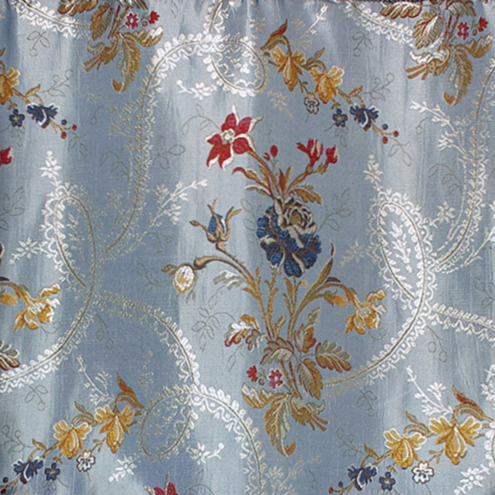 Jewel Woven Panel And Austrian Valance Curtainshop Com
