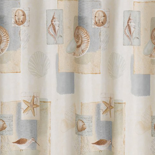 Bayside Fabric Shower Curtain