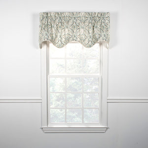 Blissfulness Scallop Lined Valance