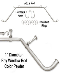 Blockaide-1Dia-Bay-Window-Rod-Set-Pewter