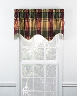 Boroughs Plaid Duchess Filler Valance