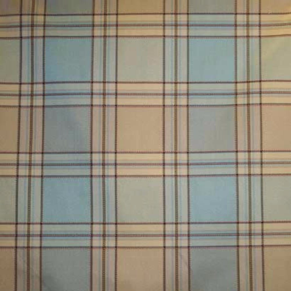 Boroughs Plaid Lined Tie Up Valance Ellis Curtain