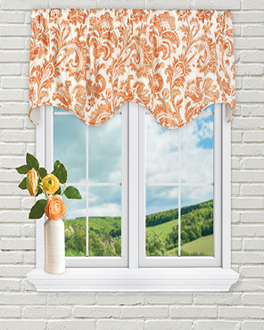 Boxtree Scalloped Lined Valance