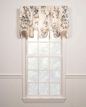 Chatsworth Lined Scalloped Valance