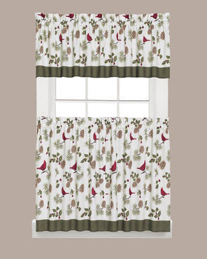 Cheerful- Trimmings- Kitchen- Tiers -Valance-and- Swag