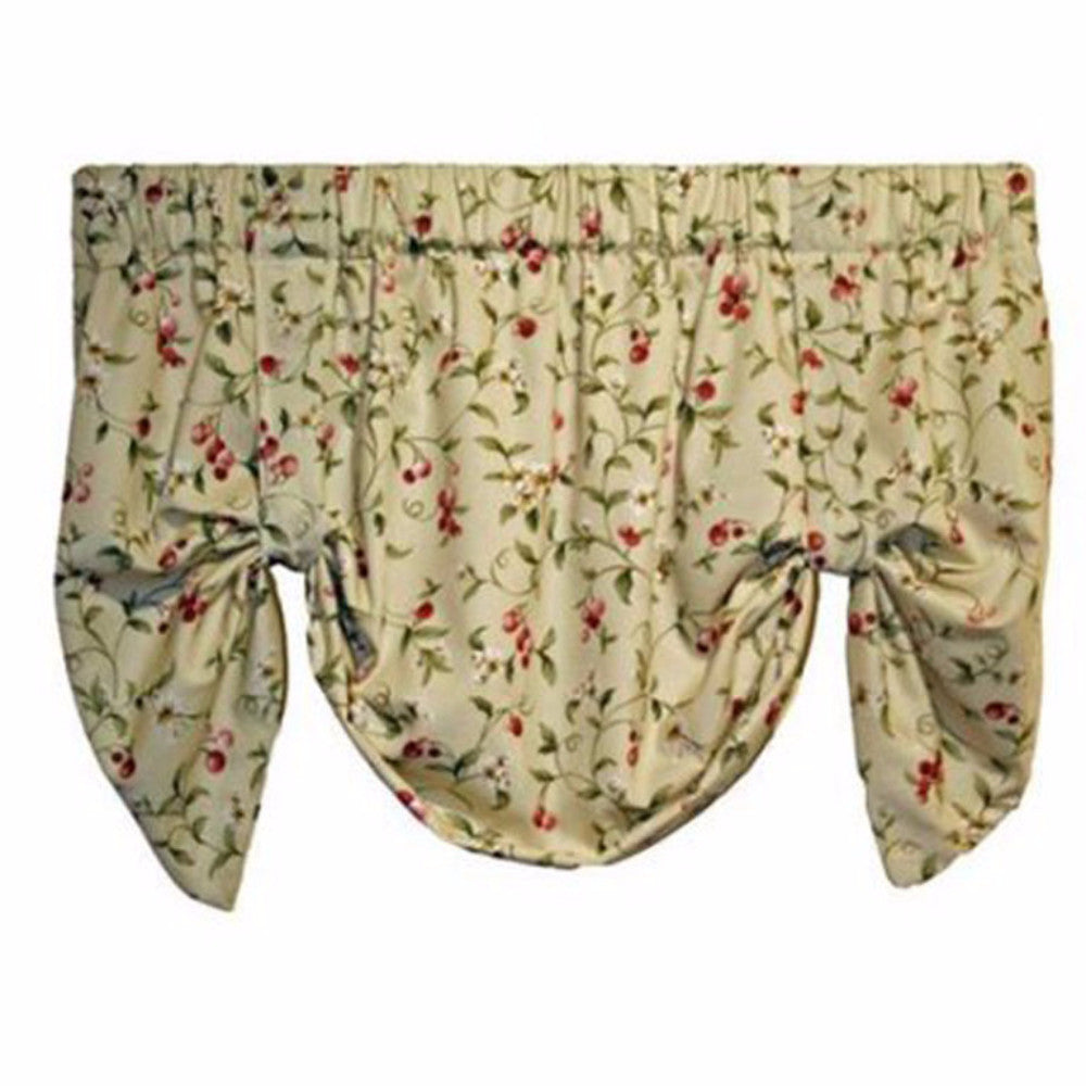 Cherries-Lined-Tie-Up-Valance-Zoom