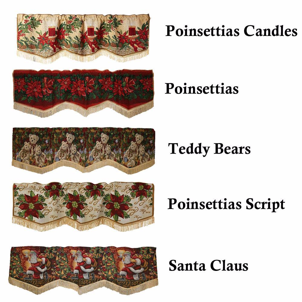 Christmas-Tapestry-Window-Valance-Zoom