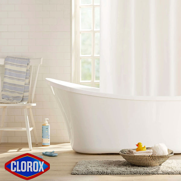 Clorox Peva Heavyweight Shower Curtain Liner