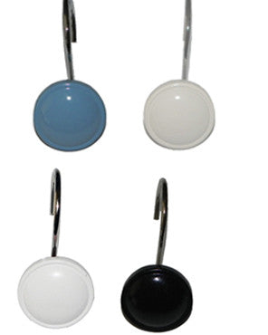 Color Rounds Shower Hooks