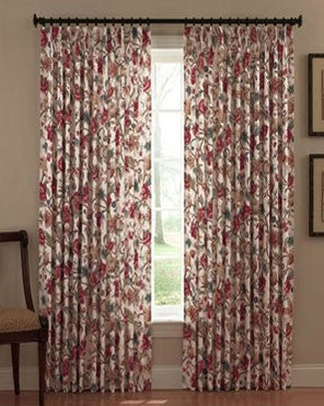 Cornwall Insulated Pinch Pleat Drapery Curtain Pair Ellis
