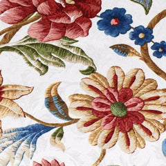 Cornwall-Jacobean-Floral-Thermal-Insulated-Pinch-Pleated-Patio-Panel-Multi-Zoom