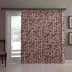 Cornwall-Jacobean-Floral-Thermal-Insulated-Pinch-Pleated-Patio-Panel-Zoom