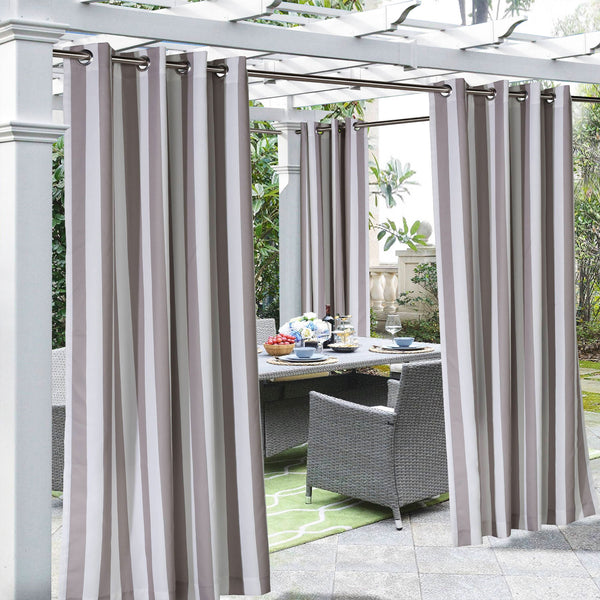 Outdoor Decor Costal Stripe