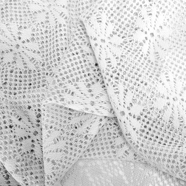 Crochet Lace Tailored Panel