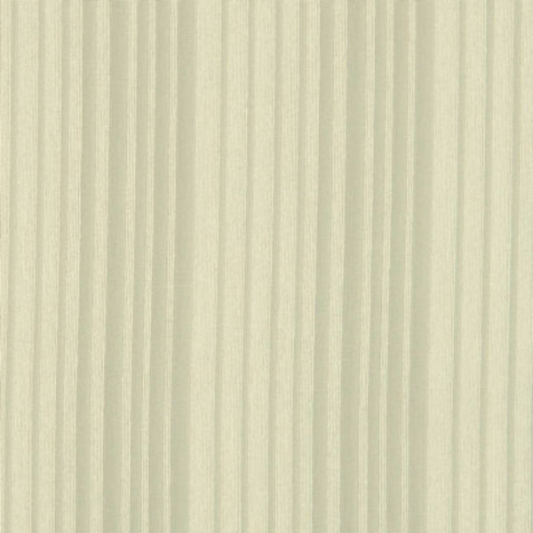Closeup shot of Custom Stripe Voile Sheer By The Foot ecru fabric