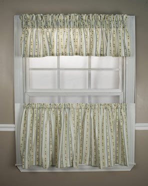 Cynthia- Stripe -Tailored- Tier-and- Valance