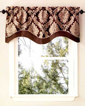 Darby Layered Scalloped Valance