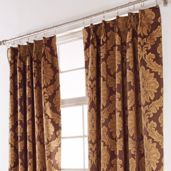 Darby-Pinch-Pleat-Jacquard-Drape-Cafe-Zoom