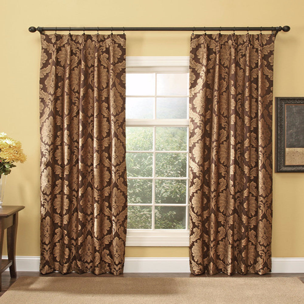 Darby Pinch Pleat Drapes, Curtains by RHF – Curtainshop.com