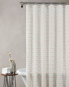 Dash Fabric Shower Curtain