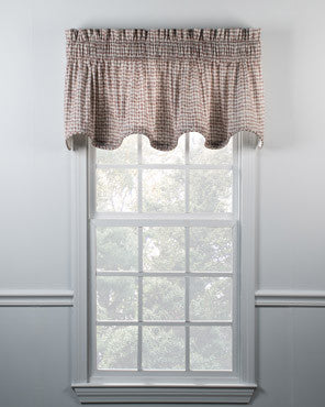 Davins Lined Scalloped Valance