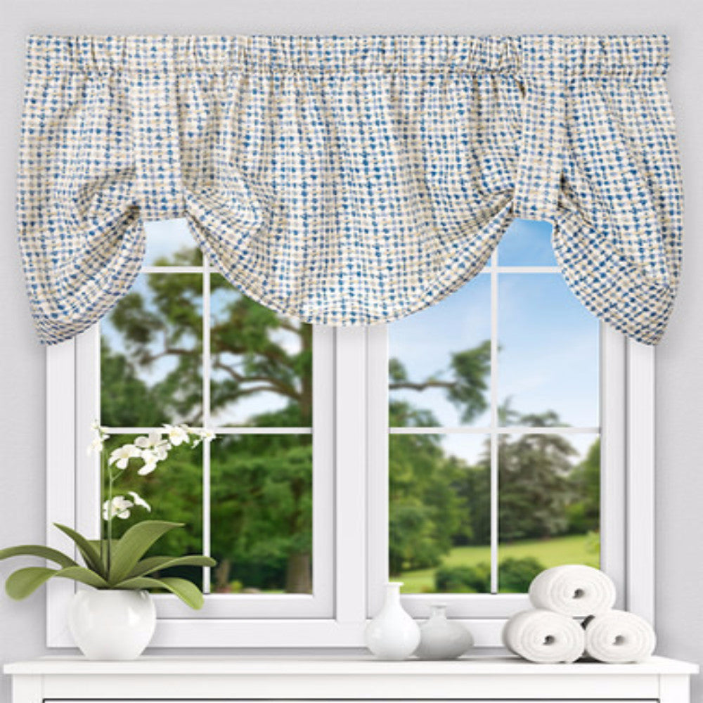 Davins Tie Up Valance Ellis Curtain