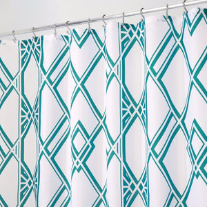 Deco Geo Fabric Shower Curtain