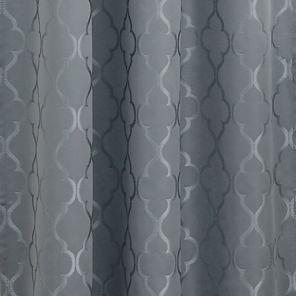 Closeup of Mineral Denise Blackout Valance fabric