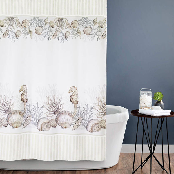 Destin Fabric Shower curtain