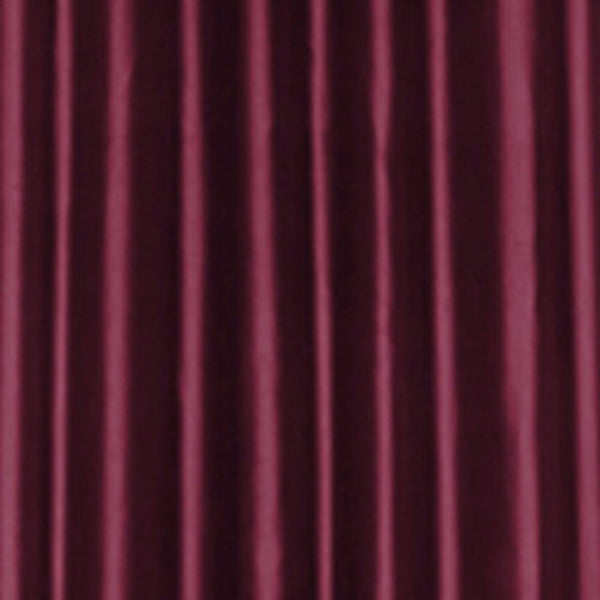 Closeup of Burgundy Dupioni Silk Austrian Valance