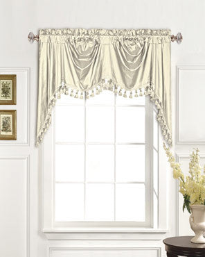 Curtains Ideas austrian valances curtains : Dupioni Silk Austrian Valance | Curtainshop.com