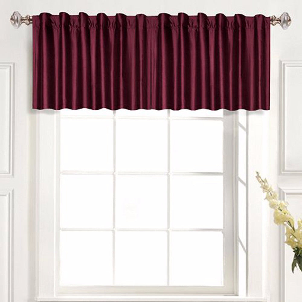 united woven valances mewocu panel valance x view metro all burgundy curtains