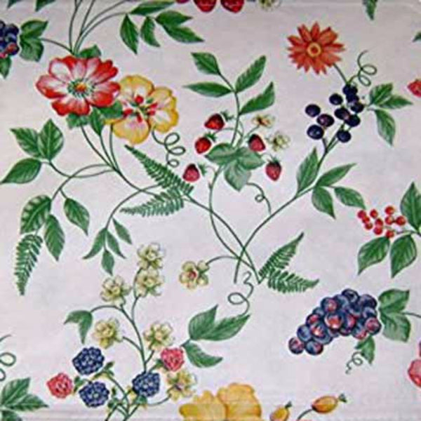 Enchanted Garden Vinyl Tablecloth