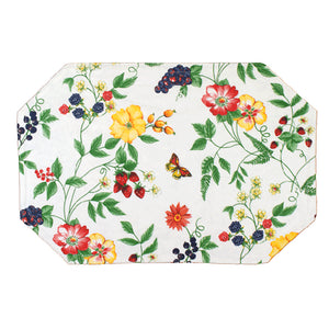 Enchanted Garden Vinyl Placemat