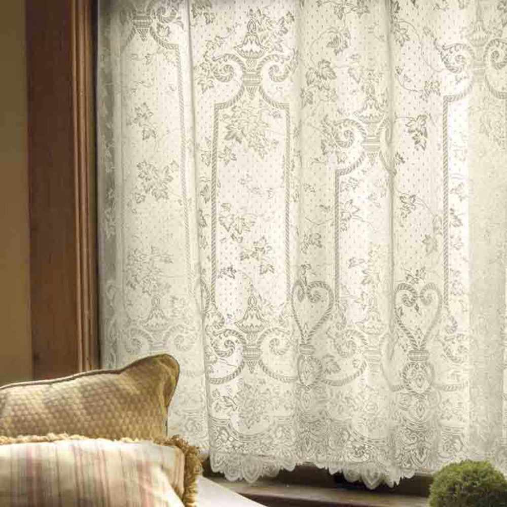 English-Ivy-Lace-Panel-And-Valance-Zoom
